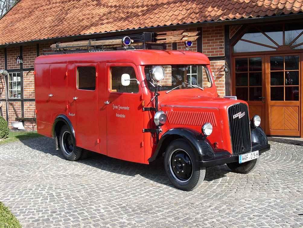 Opel-Blitz Feuerwehr-Mannschaftswagen